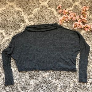 Free People We The Free Gray Dolman Sweater